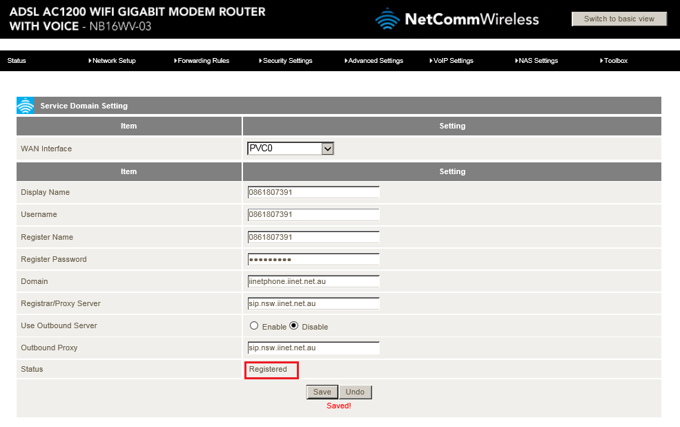 Advanced-View-VoIP-Settings-Configurations-Service-Domain-iiNet-Registered