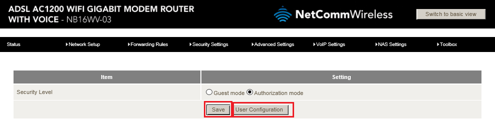 Advanced-View-NAS-Settings-Access-Control-Authorization